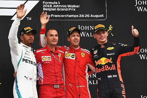 Winnaars en verliezers van de Grand Prix van België