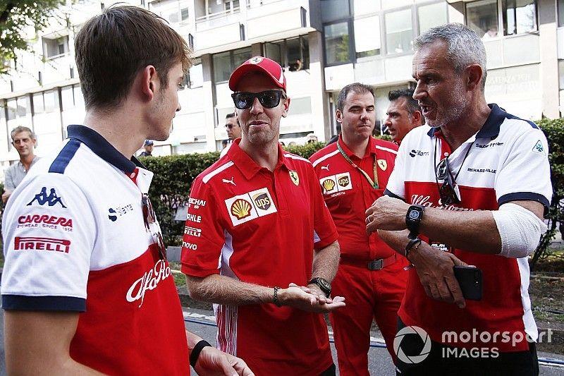 """Vettel: """"Leclerc y yo necesitamos trabajar juntos en 2019"""""""
