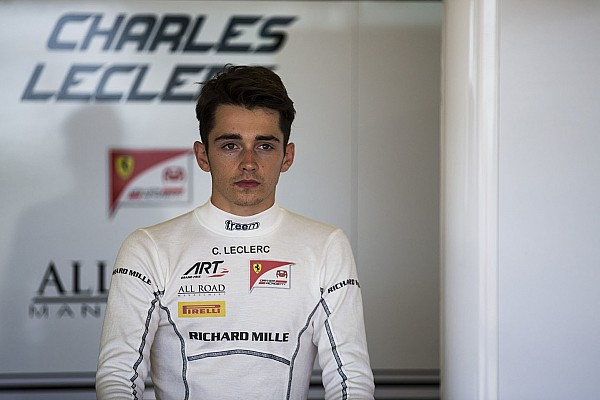 Leclerc missing Bianchi's help after Ferrari test outing