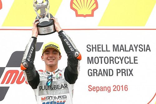 "Bagnaia hails ""best race"" of life after Sepang Moto3 win"