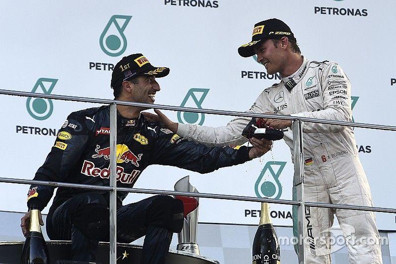 """Rosberg és Ricciardo hatalmas meglepetése: """"Utállak titeket srácok..."""""""