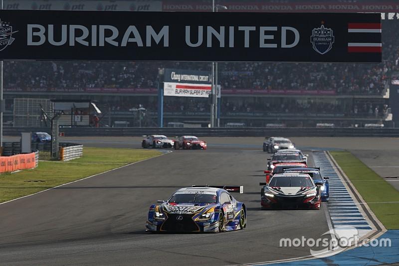 【スーパーGT】鈴鹿は300kmレースに変更へ。タイ戦は6月へ移動か?