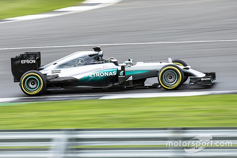 "Lorenzo set ""really competitive"" times in Mercedes F1 test"