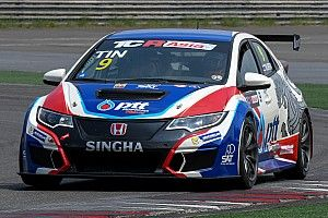 A Sepang si rivede Tin Sritrai con la Honda Civic