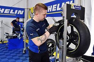 Balap motor listrik MotoE pakai ban Michelin
