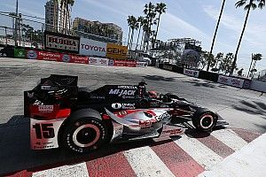Rahal fastest in Long Beach warm-up
