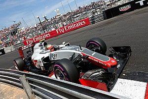 Gutiérrez starts ahead of Grosjean on the Monaco GP