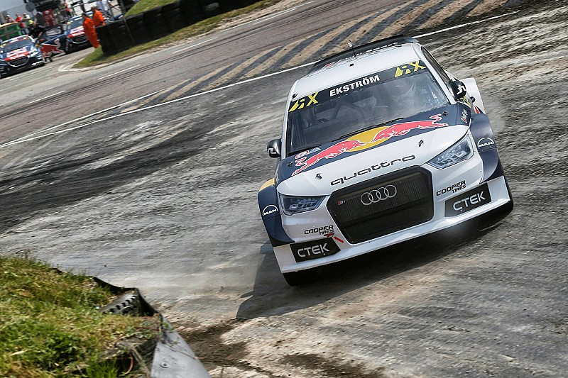 Lydden WRX: Ekstrom snatches win from Solberg in finals