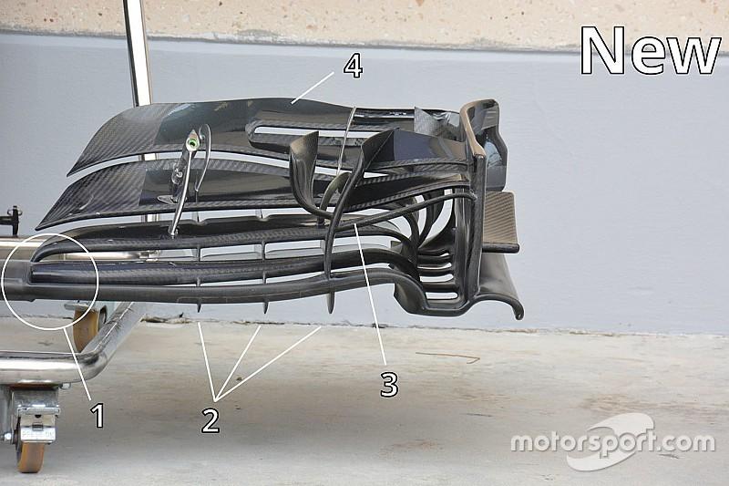 Formel-1-Technik: Der Frontflügel des McLaren MP4-31