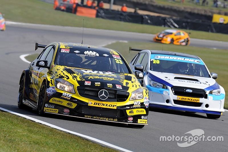 Brands Hatch BTCC: Morgan holds off BMW pair to win final race