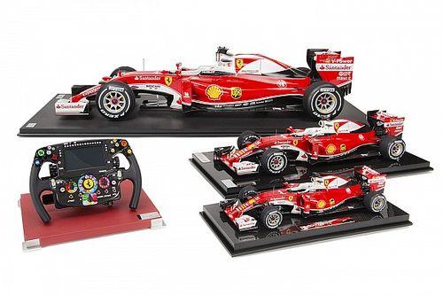 Amalgam lanza la colección Scuderia Ferrari SF16-H