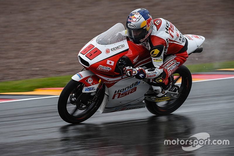Sachsenring Moto3: Pawi gives another wet-weather masterclass