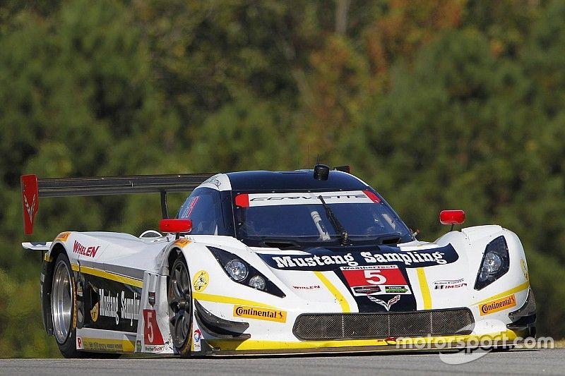 Track break-up blights Petit Le Mans at half-distance