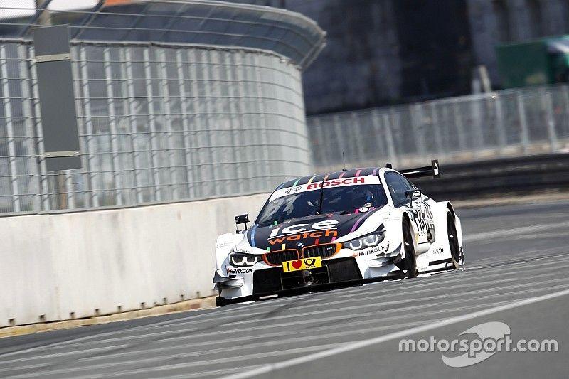 Norisring DTM: Ekstrom quickest but Blomqvist takes pole