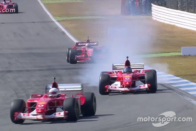 VÍDEO: Desfile de Ferraris de F1 históricas em Hockenheim