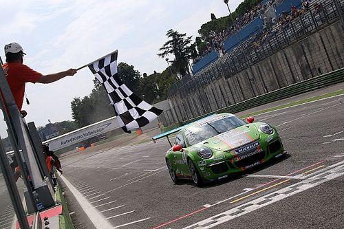 Mattia Drudi vince la mini-endurance di Vallelunga