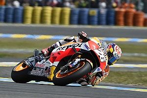 Marquez and Pedrosa begin working on setup in mixed conditions at Mugello