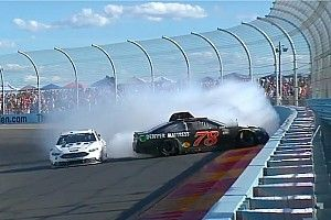 """Truex just wants drivers to """"race me like I race you"""" after last-lap wreck"""