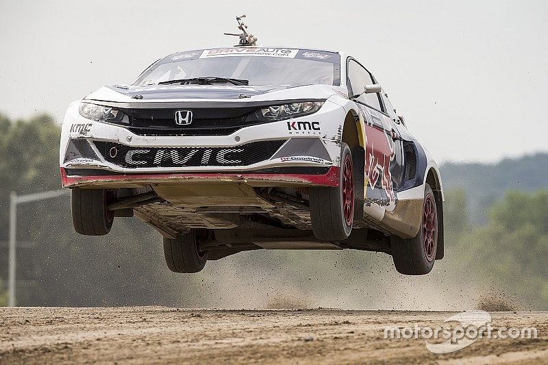 Honda Civic Coupe допустили до участия в WorldRX