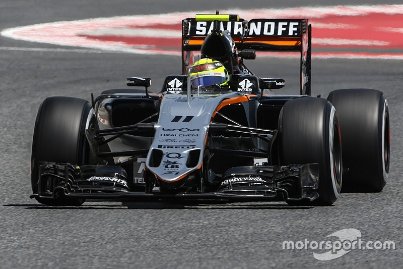Sahara Force India completed a solid first day of work at the Spanish GP