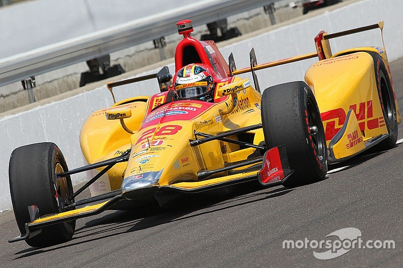 Thursday practice update: Hunter-Reay blows up, Chaves remains P1