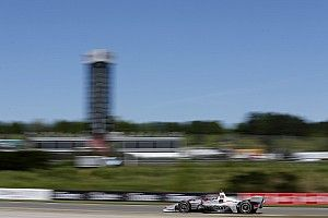 Barber IndyCar: Power fastest in red-flagged first practice