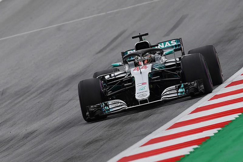 Avusturya GP 1. antrenman: Hamilton, Bottas'ın önünde lider