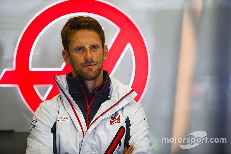 """Grosjean reste """"stupéfait"""" par sa pénalité face à Ocon"""