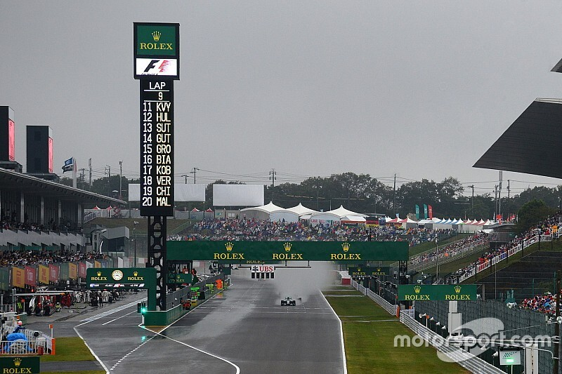Drivers want Friday call on typhoon-threatened qualifying