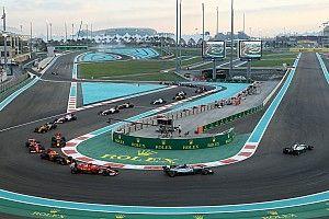 按地域划分F1赛历计划暂被搁置