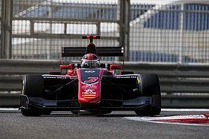 Abu Dhabi GP3: Russell follows F1 run with pole position
