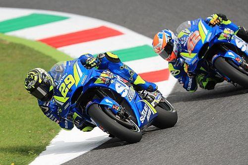 Iannone superieur in Mugello, dramatische tweede training voor Ducati
