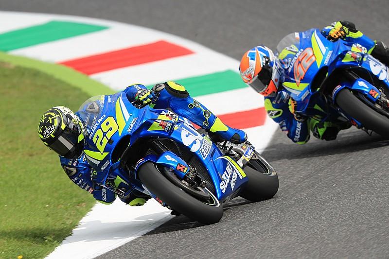 MotoGP Mugello: Iannone'nin liderliği sürüyor, Pirro kaza yaptı