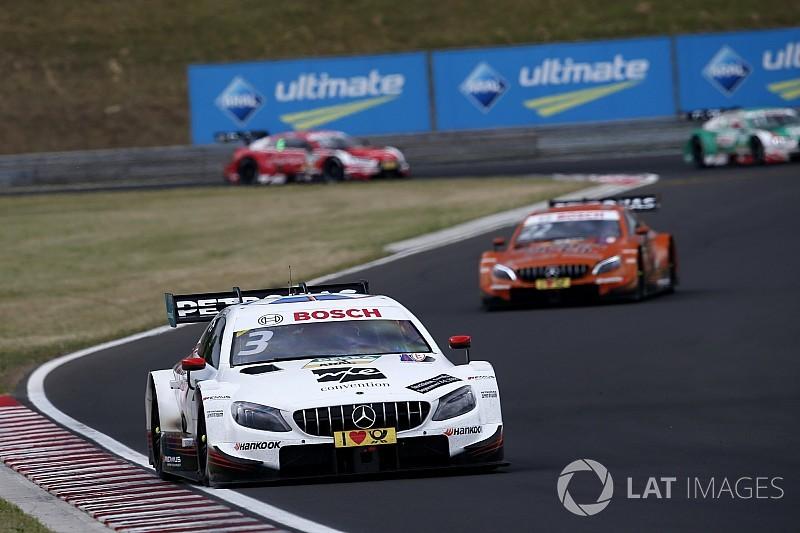 Hungaroring DTM: Di Resta beats Auer in Race 1