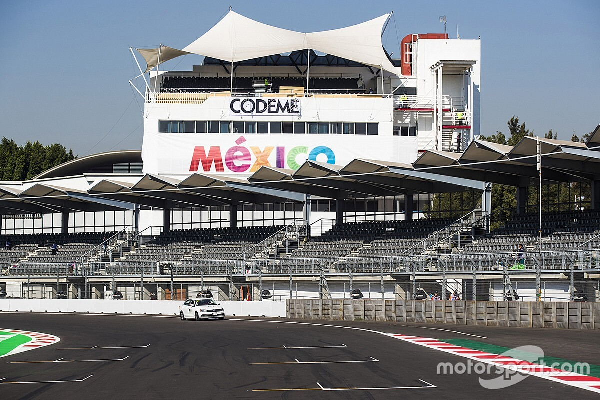 """Le GP de Mexico assuré """"au moins jusqu'en 2022"""""""