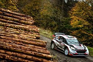 WRC Resumen de la fase Evans es el líder en Gales