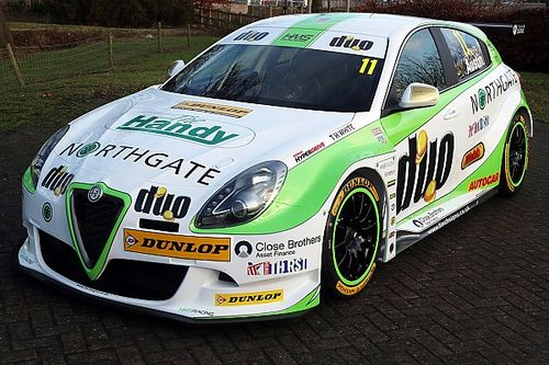 HMS Racing's Alfa Romeo BTCC car unveiled at ASI