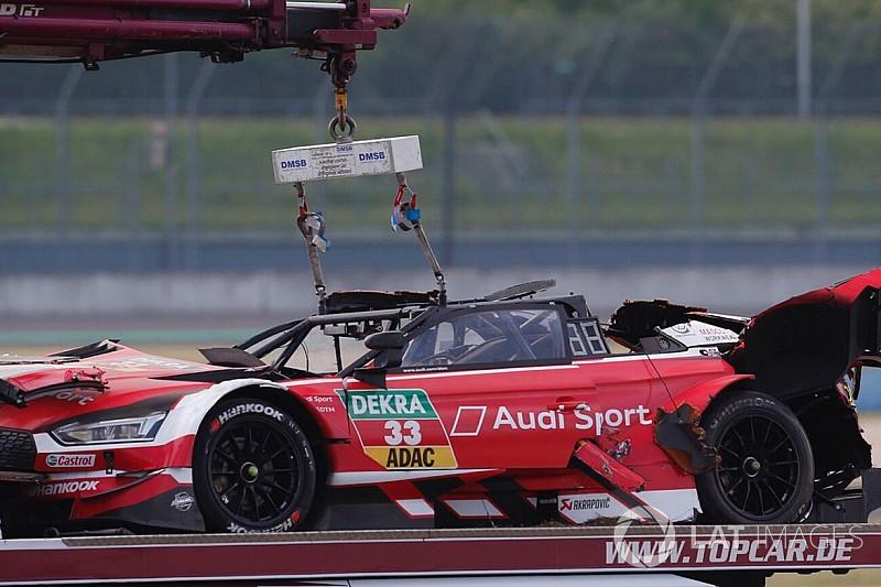 Video DTM: Rast in ospedale dopo il pauroso capottamento con l'Audi