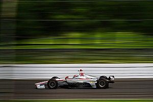 "Power on Indy: Sliding cars make ""a good formula"""