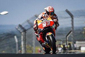 Marquez topt warm-up GP van Frankrijk, Crutchlow fit verklaard
