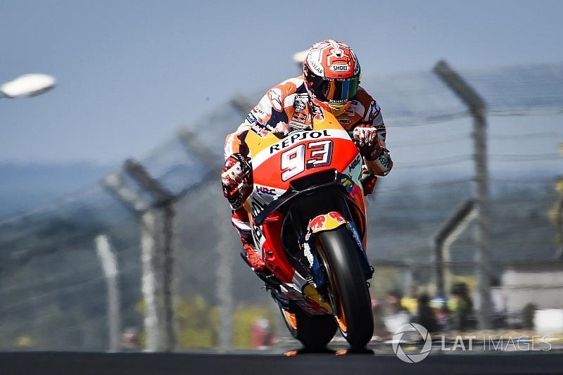Le Mans MotoGP: Marquez leads Dovizioso in warm-up