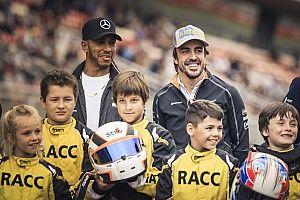 """Hamilton aimerait apporter de la """"diversité"""" en F1 comme héritage"""