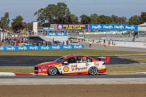 Supercars Practice report Perth Supercars: McLaughlin ends Friday on top