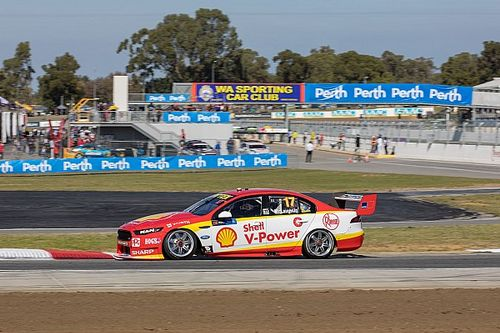 Perth Supercars: McLaughlin ends Friday on top
