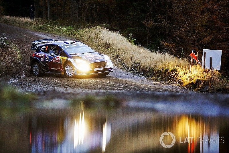 Wales WRC: Ogier seals fifth title, Evans gets first win
