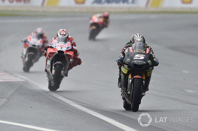 """Rossi: """"Zarco moet geen genoegen nemen met Yamaha uit 2017"""""""