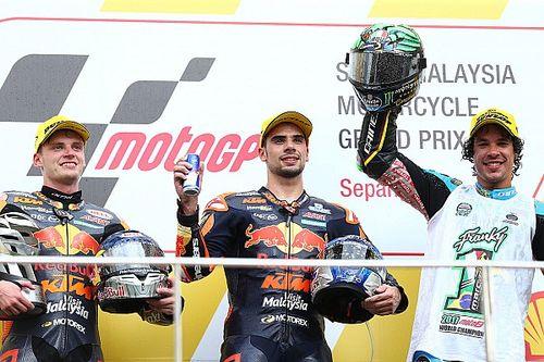 Oliveira et KTM enchaînent, Morbidelli savoure son titre !