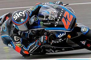 Moto2-test Jerez: Bagnaia snelst op door regen geteisterde eerste dag