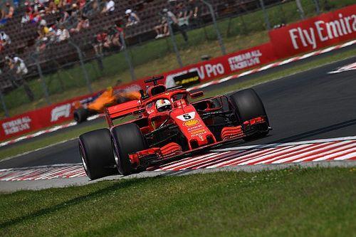 Vettel bovenaan in derde training Hongarije, zesde tijd Verstappen