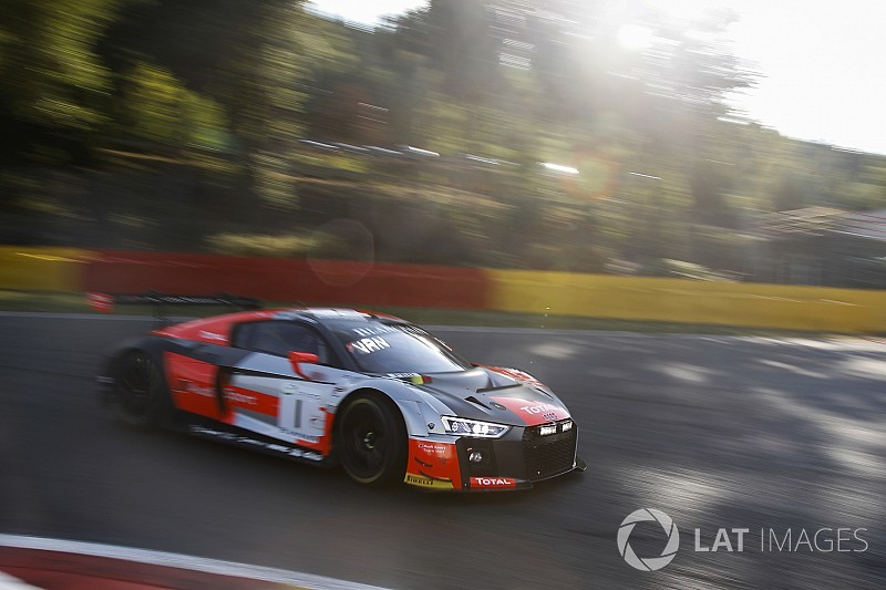 Spa 24h: Vanthoor grabs pole for WRT Audi
